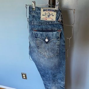 True Religion Stone Washed Jeans